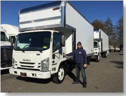 Our moving trucks are brand new and fully equipped